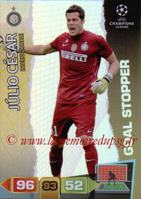2011-12 - Panini Champions League Cards - N° 284 - Julio CESAR (Inter Milan) (Goal Stopper)