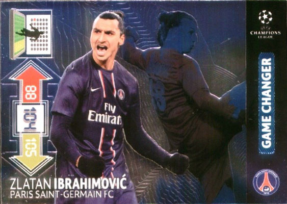 U097 - Zlatan IBRAHIMOVIC (Game Changer)