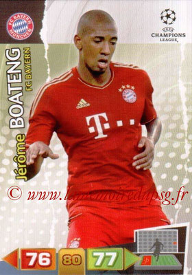 2011-12 - Panini Champions League Cards - N° 059 - Jérôme BOATENG (FC Bayern Munich)