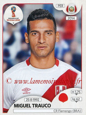 2018 - Panini FIFA World Cup Russia Stickers - N° 237 - Miguel TRAUCO (Pérou)