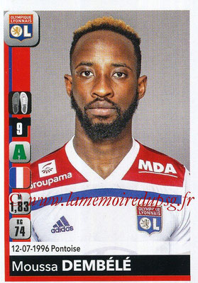 2018-19 - Panini Ligue 1 Stickers - N° 192 - Moussa DEMBELE (Lyon)