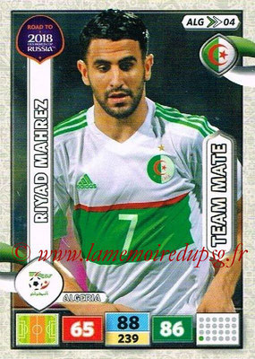 2018 - Panini Road to FIFA World Cup Russia Adrenalyn XL - N° ALG04 - Riyad MAHREZ (Algérie)