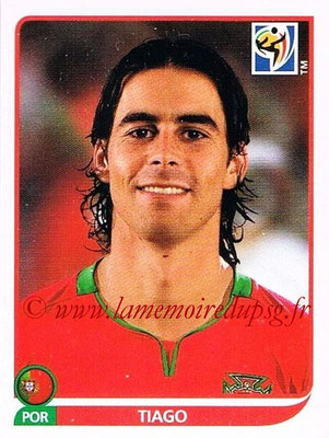 2010 - Panini FIFA World Cup South Africa Stickers - N° 551 - TIAGO (Portugal)