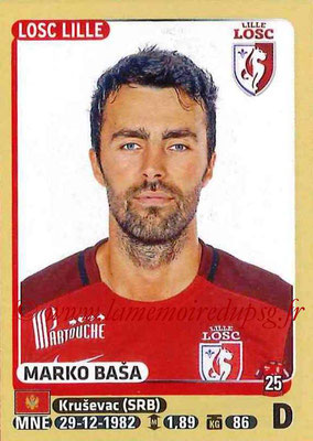 2015-16 - Panini Ligue 1 Stickers - N° 147 - Marko BASA (Lille OSC)