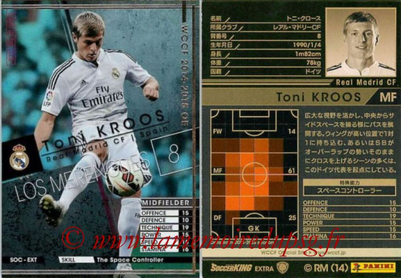 2014-15 - WCCF - N° SOC-EXT04 - Tony KROOS (Real Madrid CF) (Stars of The Club) (Extra)