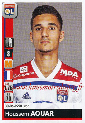 2018-19 - Panini Ligue 1 Stickers - N° 186 - Houssem AOUAR (Lyon)