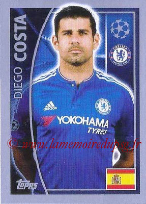 2015-16 - Topps UEFA Champions League Stickers - N° 460 - Diego COSTA (Chelsea FC)