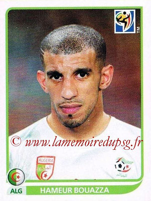 2010 - Panini FIFA World Cup South Africa Stickers - N° 234 - Hameur BOUAZZA (Algérie)