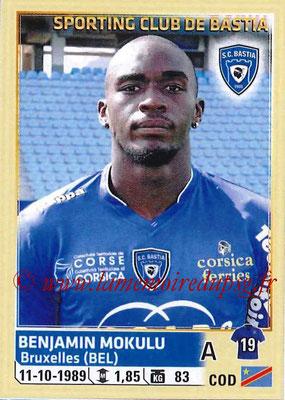 2014-15 - Panini Ligue 1 Stickers - N° 019 - Benjamin MOKULU (SC Bastia)