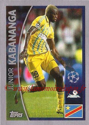 2015-16 - Topps UEFA Champions League Stickers - N° 160 - Junior KABANANGA (FC Astana)