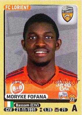 2015-16 - Panini Ligue 1 Stickers - N° 189 - Moryke FOFANA (FC Lorient)