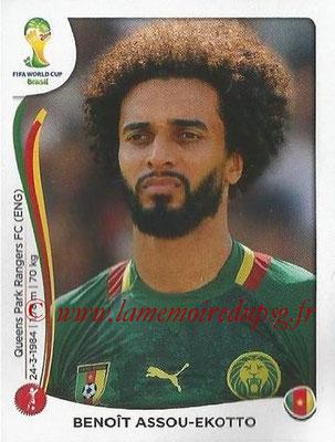 2014 - Panini FIFA World Cup Brazil Stickers - N° 096 - Benoît ASSOU-EKOTTO (Cameroun)