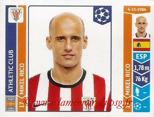 2014-15 - Panini Champions League N° 603 - Mikel RICO (Athletic Club Bilbao)