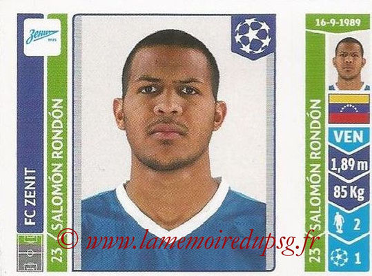 2014-15 - Panini Champions League N° 209 - Salomon RONDON (FC Zenit)