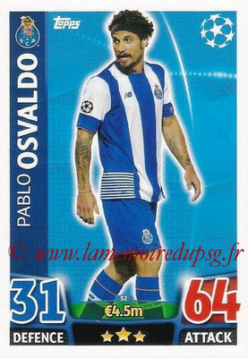2015-16 - Topps UEFA Champions League Match Attax - N° 032 - Pablo OSVALDO (FC Porto)