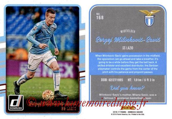 2016 - Panini Donruss Cards - N° 168 - Sergei MILINKOVIC-SAVIC (SS Lazio)