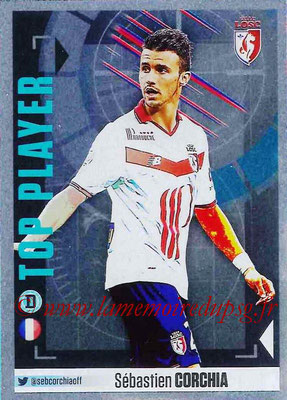 2016-17 - Panini Ligue 1 Stickers - N° 296 - Sébastien CORCHIA (Lille) (Top Player)