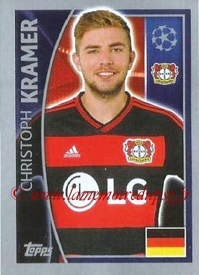 2015-16 - Topps UEFA Champions League Stickers - N° 326 - Christoph KRAMER (Bayer 04 Leverkusen)