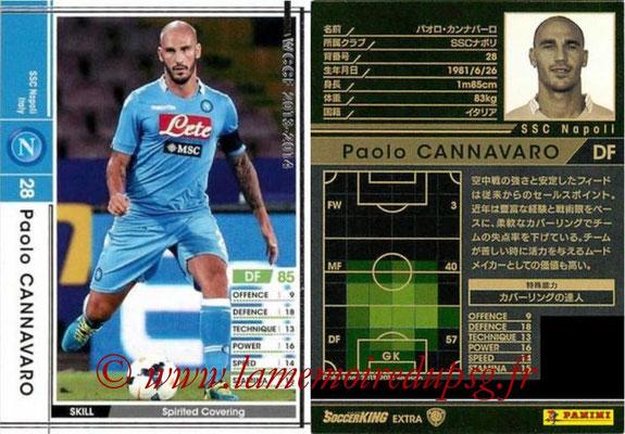 2013-14 - WCCF - N° EXT - Paolo CANNAVARO (SSC Napoli) (Extra)