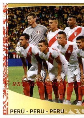 Panini Copa America Centenario USA 2016 Stickers - N° 183 - Equipe Perou 1