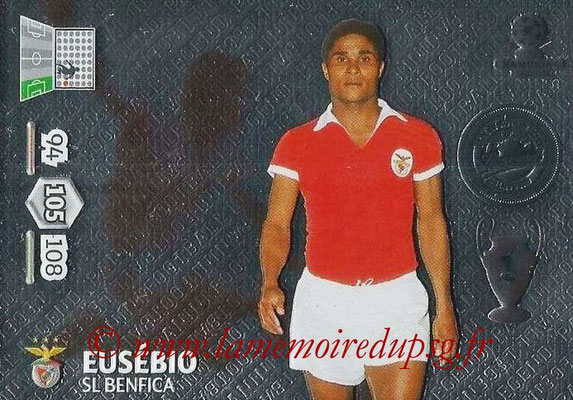 2014-15 - Adrenalyn XL champions League N° 363 - EUSEBIO (SL Benfica) (Legend)