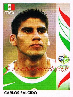 2006 - Panini FIFA World Cup Germany Stickers - N° 251 - Carlos SALCIDO (Méxique)