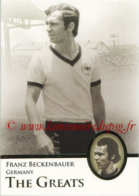 2013 - Futera World Football Unique - N° 102 - Franz BECKENBAUER (Allemagne) (The Greats)