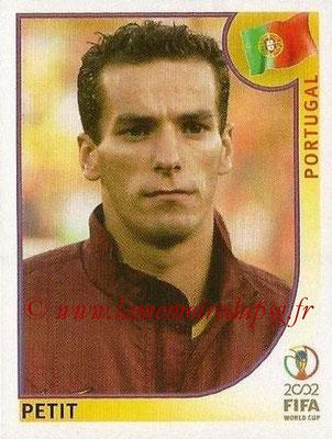 2002 - Panini FIFA World Cup Stickers - N° 303 - PETIT (Portugal)