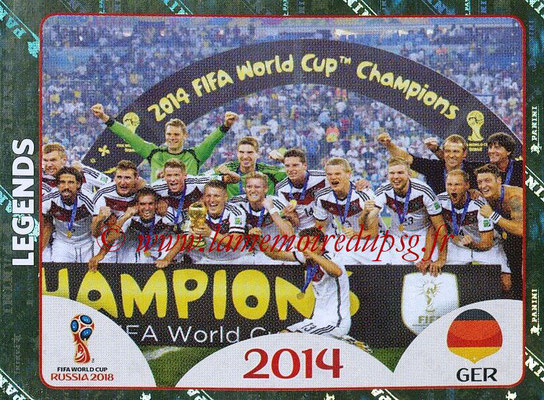 2018 - Panini FIFA World Cup Russia Stickers - N° 673 - Allemagne 2014 (FIFA World Cup Legends)