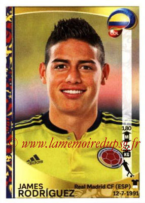 Panini Copa America Centenario USA 2016 Stickers - N° 053 - James RODRIGUEZ (Colombie)