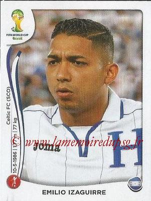 2014 - Panini FIFA World Cup Brazil Stickers - N° 396 - Emilio IZAGUIRRE (Honduras)