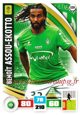 2016-17 - Panini Adrenalyn XL Ligue 1 - N° 329 - Benoït ASSOU-EKOTTO (Saint-Etienne)
