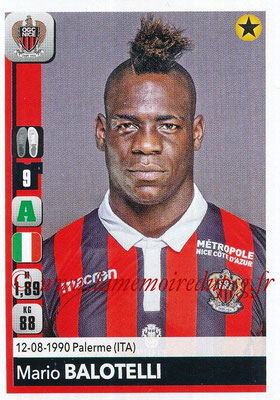 2018-19 - Panini Ligue 1 Stickers - N° 316 - Mario BALOTELLI (Nice)