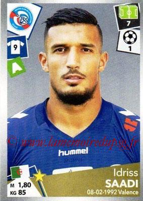 2017-18 - Panini Ligue 1 Stickers - N° 460 - Idriss SAADI (Strasbourg)