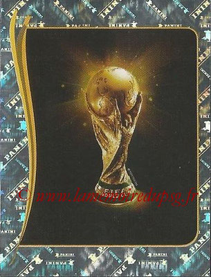 2014 - Panini FIFA World Cup Brazil Stickers - N° 006 - Trophée FIFA World Cup