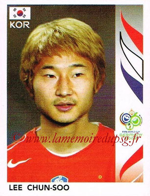 2006 - Panini FIFA World Cup Germany Stickers - N° 500 - Lee CHUN-SOO (Corée du Sud)