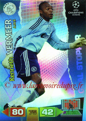2011-12 - Panini Champions League Cards - N° 276 - Kenneth VERMEER (AFC Ajax) (Goal Stopper)