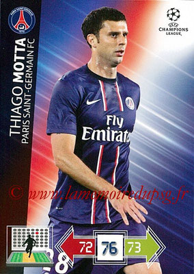 2012-13 - Adrenalyn XL champions League N° 210 - Thiago MOTTA (Paris Saint-Germain)