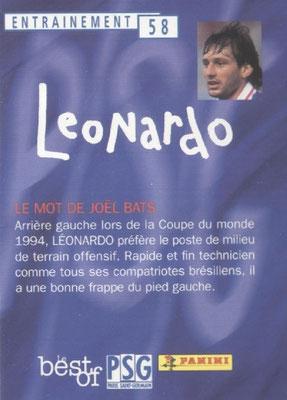 N° 058 - LEONARDO (Verso)
