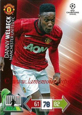 2012-13 - Adrenalyn XL champions League N° 150 - Danny WELBECK (Manchester United FC)