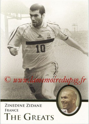 2013 - Futera World Football Unique - N° 120 - Zinedine ZIDANE (France) (The Greats)