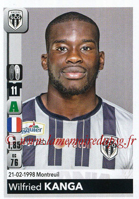 2018-19 - Panini Ligue 1 Stickers - N° 046 - Wilfried KANGA (Angers)