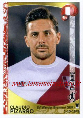Panini Copa America Centenario USA 2016 Stickers - N° 204 - Claudio PIZARRO (Perou)
