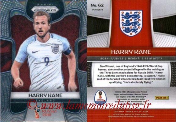 2018 - Panini Prizm FIFA World Cup Russia - N° 062 - Harry KANE (Angleterre)