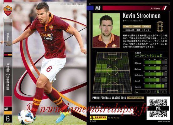 Panini Football League 2014 - PFL06 - N° 026 - Kevin STROOTMAN (AS Roma) (Star)