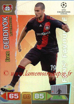 2011-12 - Panini Champions League Cards - N° 301 - Eren DERDIYOK (Bayer 04 Leverkusen)
