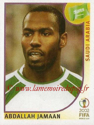 2002 - Panini FIFA World Cup Stickers - N° 347 - Abdallah JAMAAN (Arabie Saoudite)