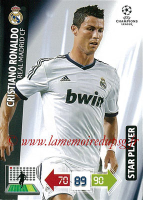 2012-13 - Adrenalyn XL champions League N° 233 - Cristiano RONALDO (Real Madrid CF) (Star Player)