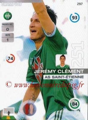 N° 297 - Jérémy CLEMENT (2007-11, PSG > 2015-16, Saint-Etienne)