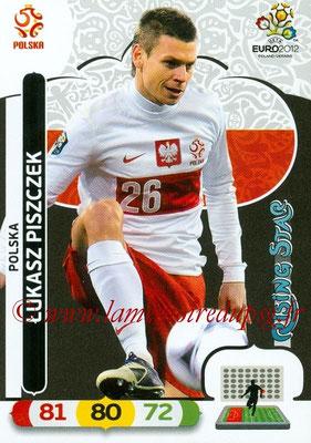 Panini Euro 2012 Cards Adrenalyn XL - N° 155 - Lukasz PISZCZEK (Pologne) (Rising Star)